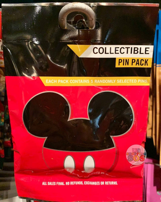 DLR - Mystery Collectible Pin Pack - Mickey Icon
