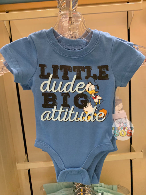 "DLR - Baby Onesie (Infant & Toddler) - Donald ""Little Dude Big Attitude"""