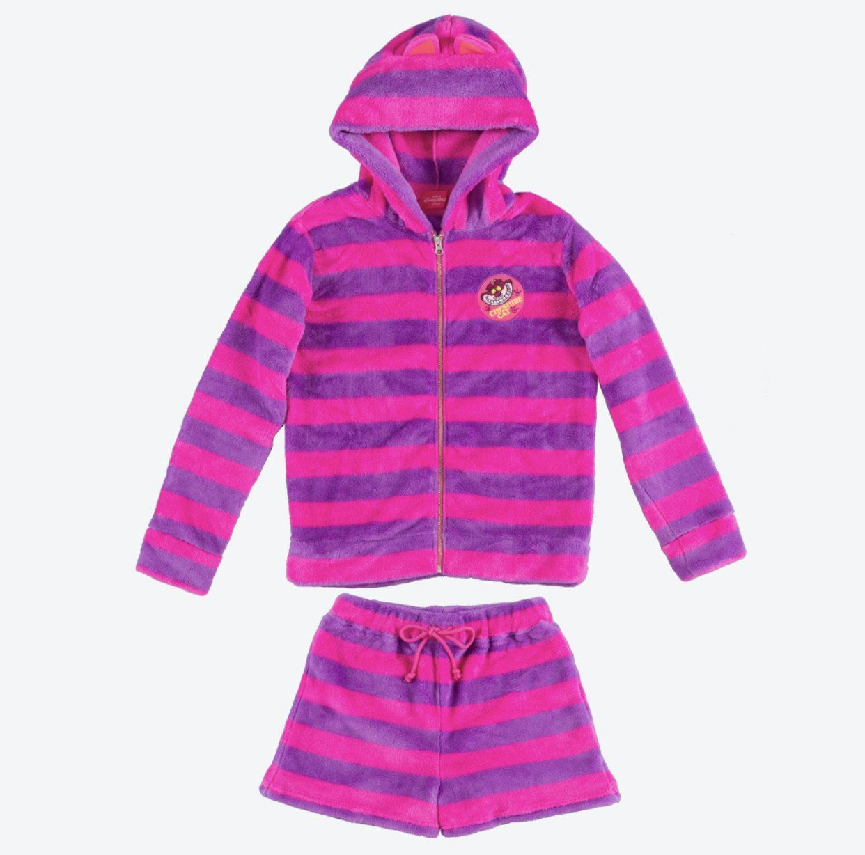 TDR - Fluffy Pajamas Set x Cheshire Cat
