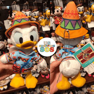 TDR - Donald Plush Keychain in Mexican Costume