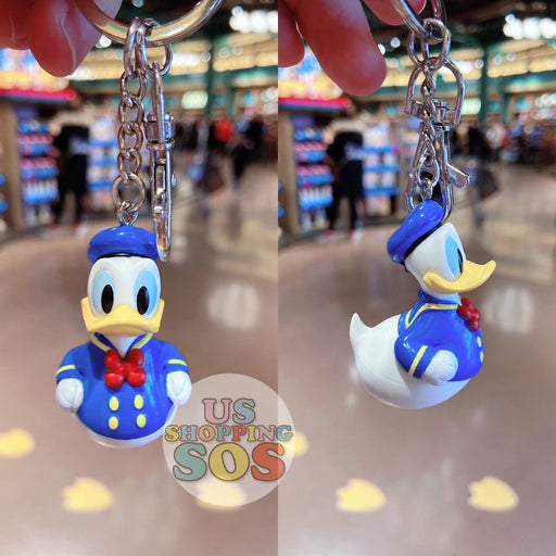 SHDL - Rubber Donald Duck Keychain