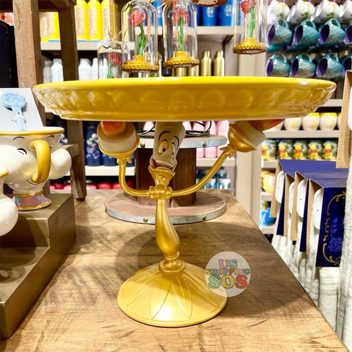 DLR - Disney Home Beauty and the Beast -  Lumière Cake Stand