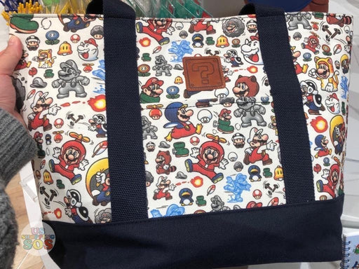 Japan Nintendo - Super Mario All-Over Printed Tote Bag