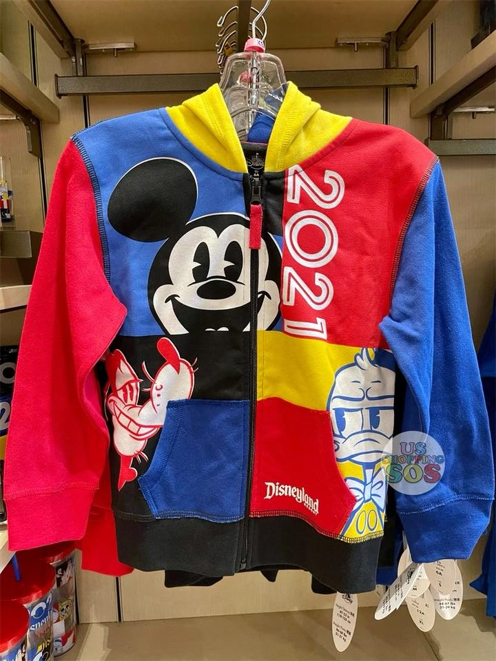 DLR - Disneyland 2021 - Mickey & Friends Zip Hoodie (Youth)