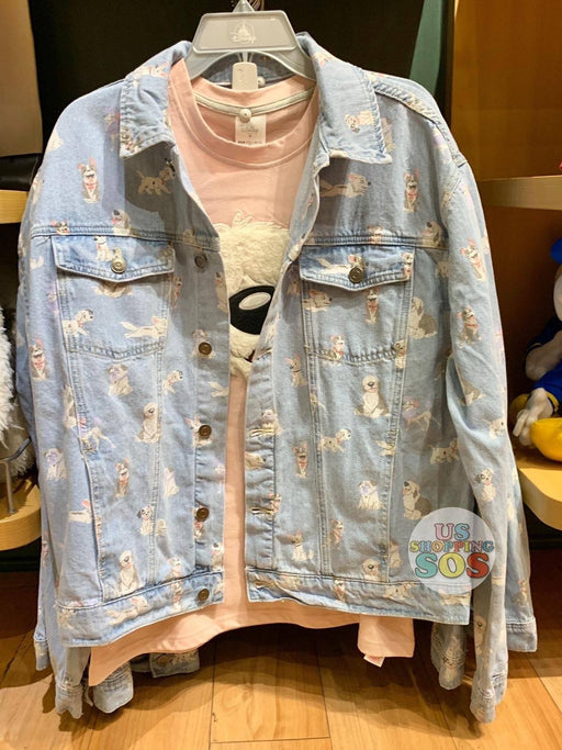 USA Disneystore - Oh My Disney! Disney Dogs - All-Over-Print Denim Jacket (Adult)