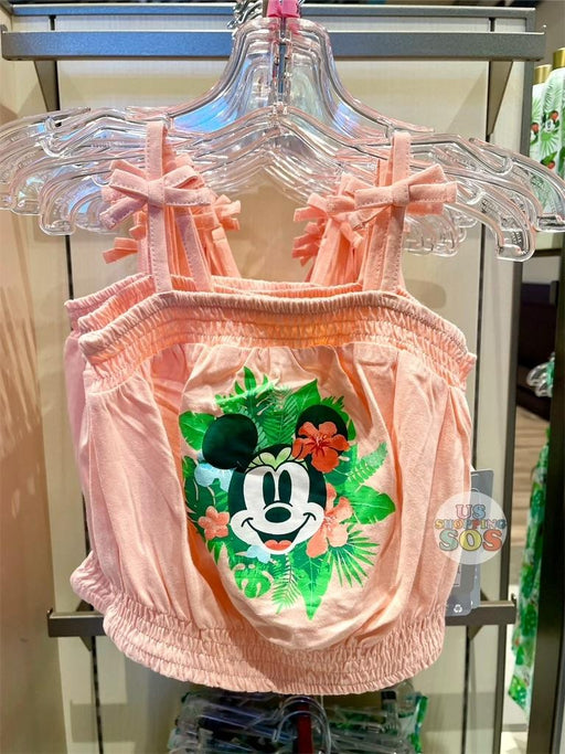 DLR/WDW - Tropical Hello Summer - Minnie Straps Top (Youth)