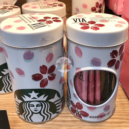 Japan Starbucks - Sakura 2019 Spring Season Blend - Via® Assortment Set (20 Sticks)