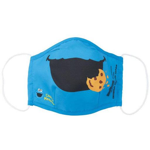 USJ - Antibacterial Deodorant Cloth Face Mask - Sesame Street Cookie Monster