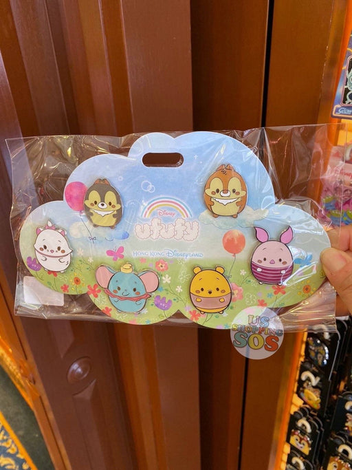 HKDL - Pins Set x Ufufy (Flowers field)