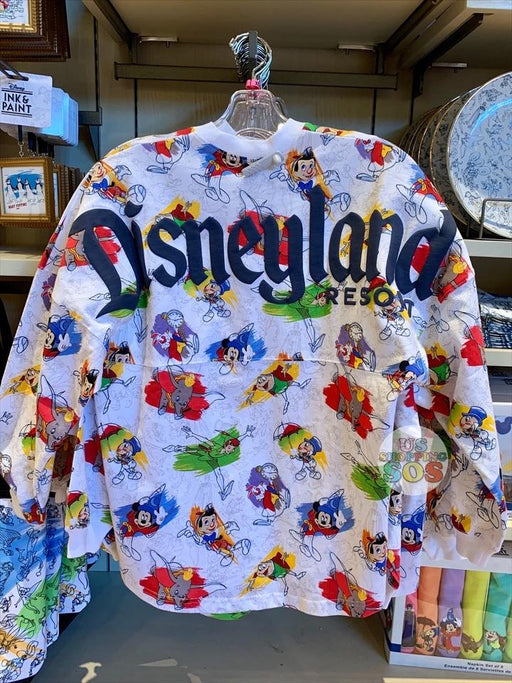 "DLR - Ink & Paint - ""Disneyland Resort"" All-Over-Print Spirit Jersey (Adult)"