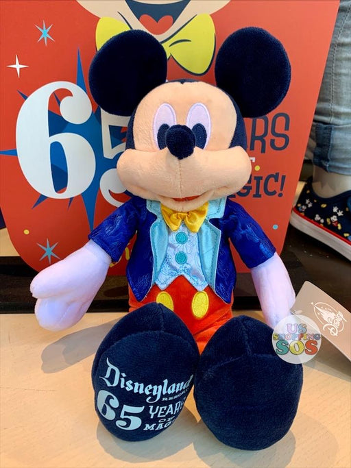 DLR - Disneyland Park 65th Anniversary - Mickey Plush Toy