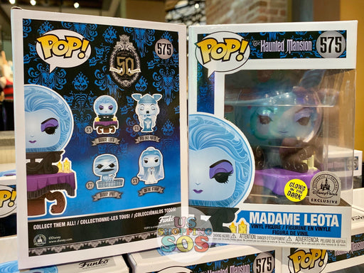 DLR - Funko POP! Figure - Haunted Mansion Madame Leota (Glow in Dark)