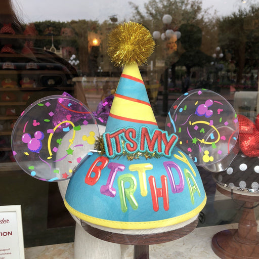 DLR - Mickey Birthday Ear Hat