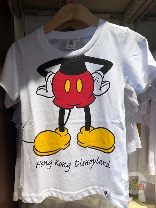 HKDL - Unisex Tee x Mickey Mouse Body