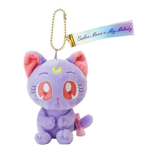 Japan Sanrio - Sailor Moon x My Melody - Luna Plush Keychain