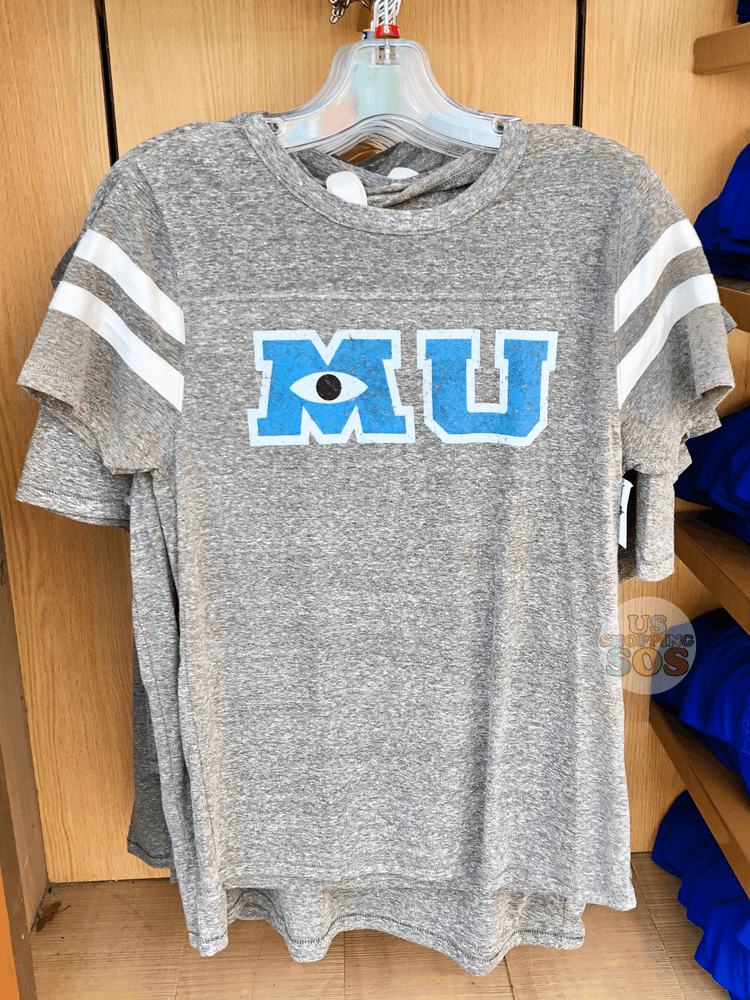 "DLR - Monsters University ""MU"" Men Tee (Grey)"