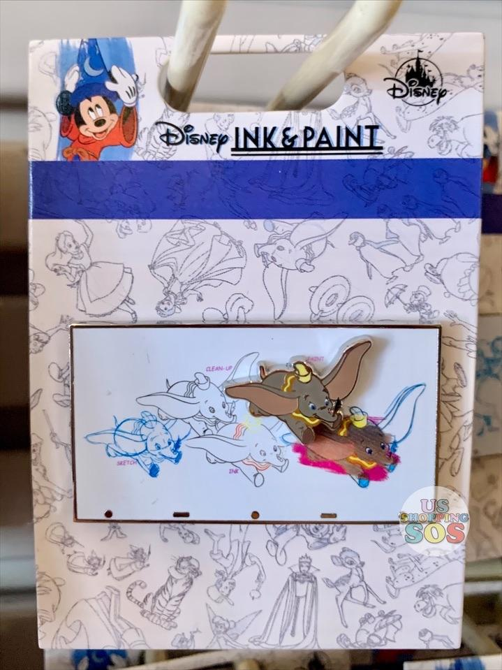 DLR - Ink & Paint - Character Pin - Dumbo