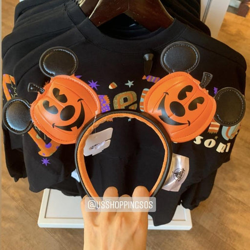 DLR - 🎃 Halloween Time 2020 - Mickey Pumpkin Pleather Headband
