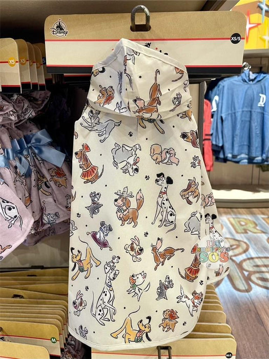 DLR - Disney Reigning Cats & Dogs 🐾 - Disney Tails Pet Apparel All-Over-Print Raincoat