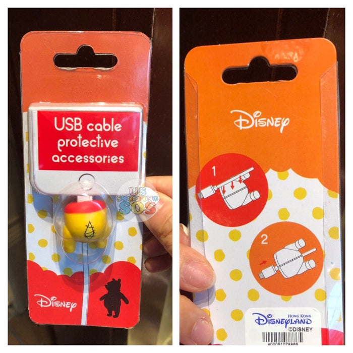 HKDL - USB Cable Protective Accessories - Winnie the Pooh