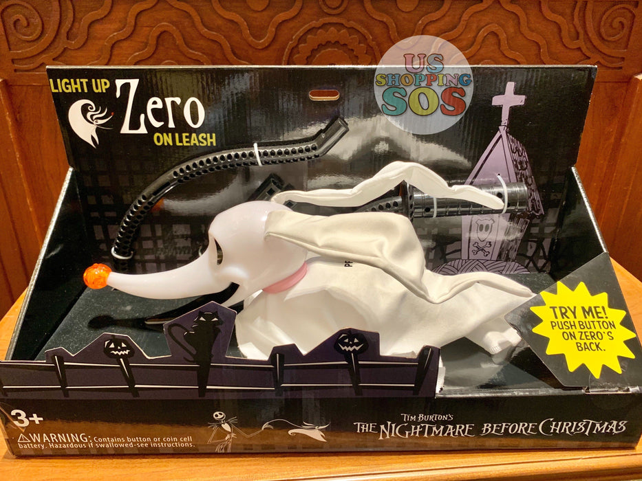 DLR - The Nightmare Before Christmas - Light Up Zero on Leash