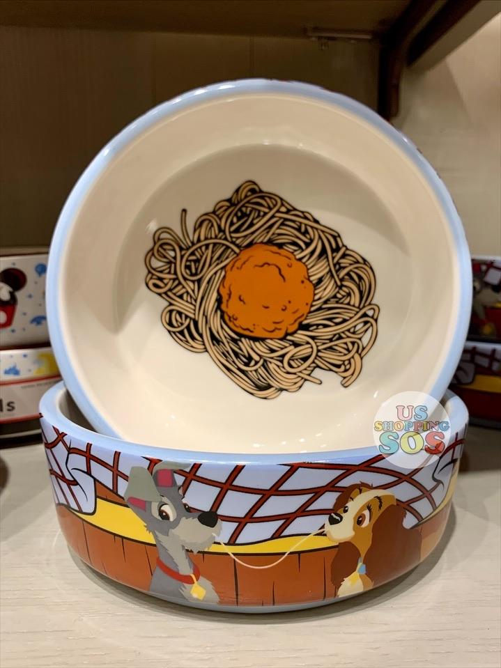 DLR - Disney Tails Pet Bowl - Lady and the Tramp