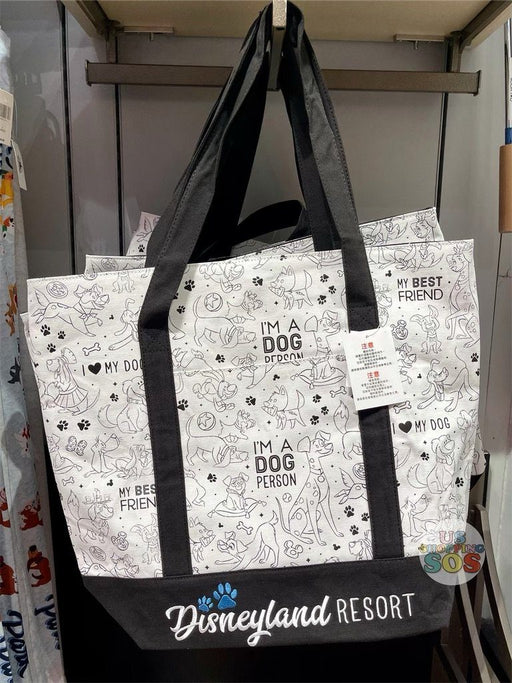DLR - Disney Reigning Cats & Dogs 🐾 - Disney Dogs Disneyland Resort Tote Bag