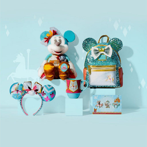 HKDL/SHDS/SHDL- Minnie Mouse the Main Attraction Series - July (King Arthur Carousel)