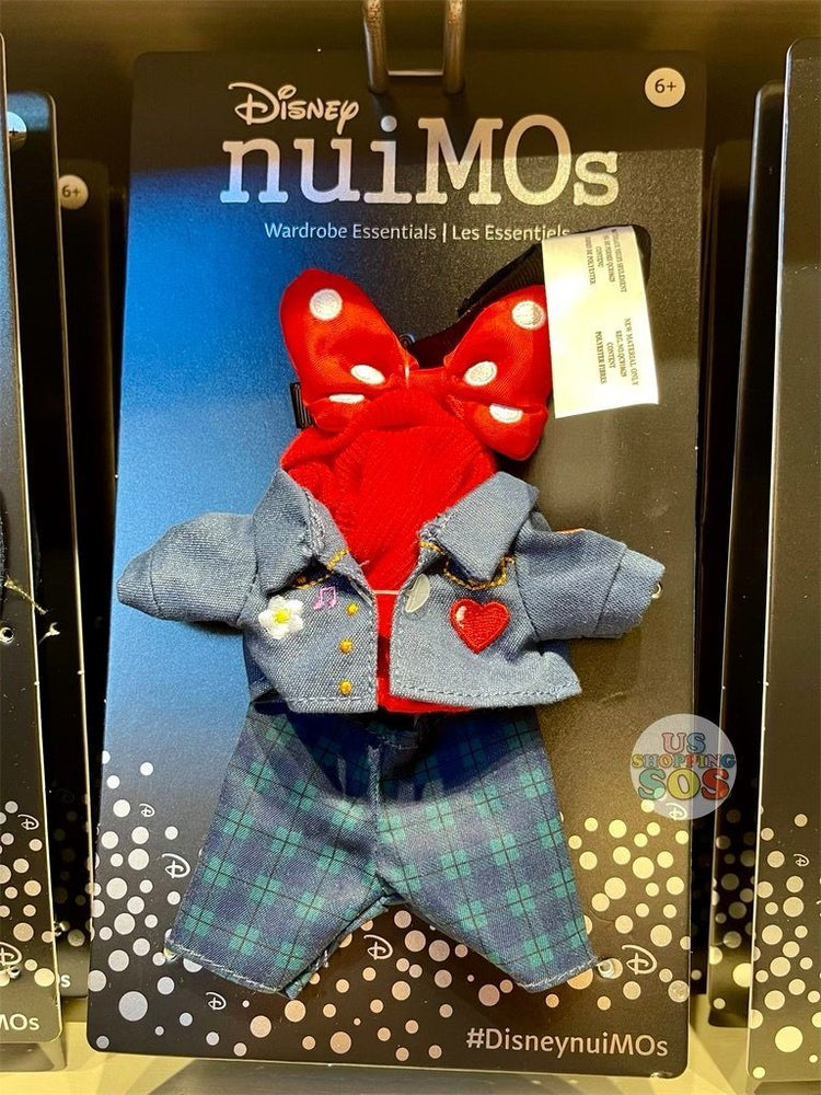 DLR - nuiMOs Outfit x Denim Jacket and Pants Set