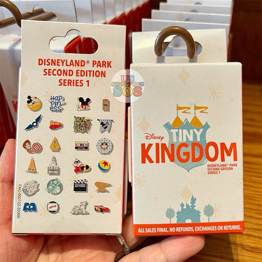 DLR - Disney Tiny Kingdom Disneyland Park Pin Mystery Box (2nd Edition Series 1)