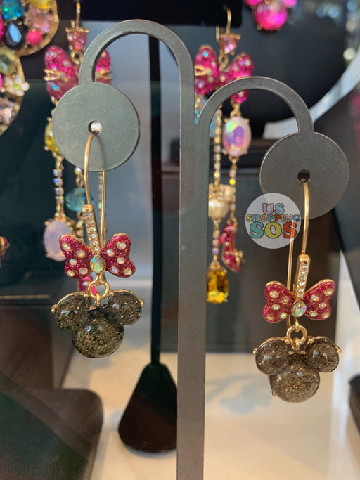 DLR - Park Designer Betsey Johnson - Minnie Mouse Icon Earrings