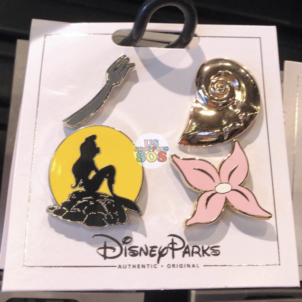 DLR - Flair Pin Set of 4 - The Little Mermaid