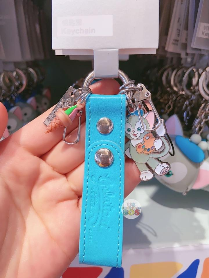 SHDL - Keychain with Leather - Gelatoni