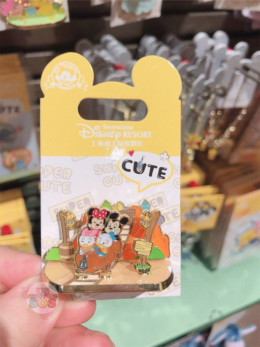 SHDL - Super Cute Mickey & Friends Collection - Mickey, Minnie, Donald & Daisy Pin