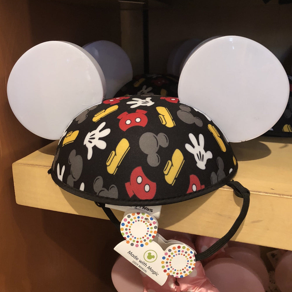 DLR - Mickey Body Icon All-Over-Print Light-Up Ear Hat