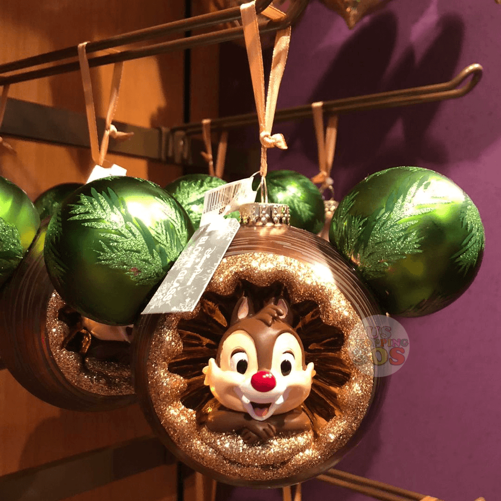 DLR - Chip 'n Dale in Mickey Icon Ornament