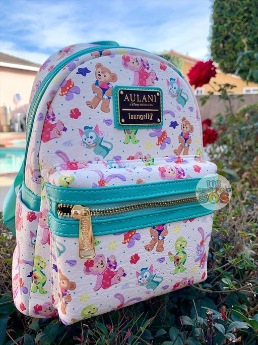 [On Hand!] Aulani - Aloha Sunny Day - Loungefly All Over Print Backpack