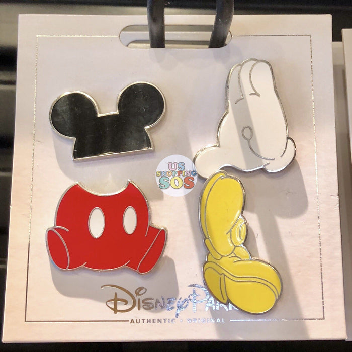 DLR - Flair Pin Set of 4 - Mickey Mouse