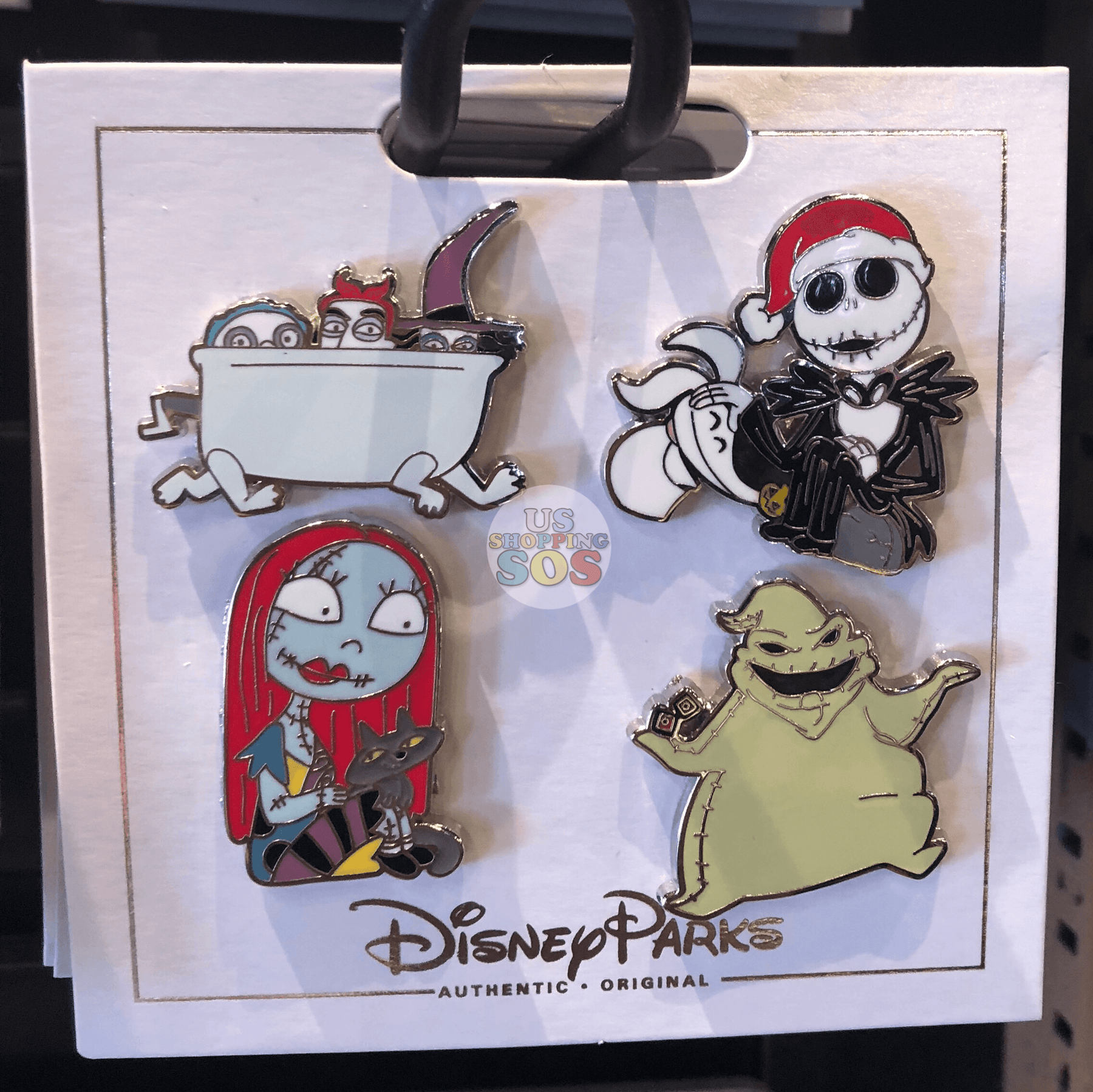 DLR - Flair Pin Set of 4 - The Nightmare Before Christmas