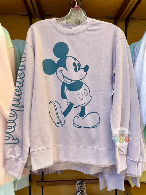 DLR - Sweetheart Cotton Candy - Mickey & Minnie Disneyland Purple Pullover