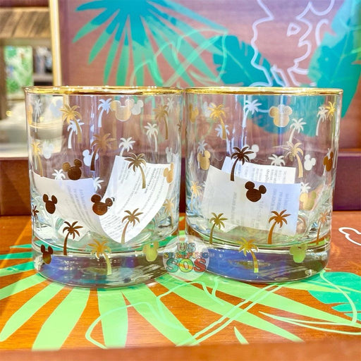 DLR/WDW - Tropical Hello Summer - Mickey Icon Glass