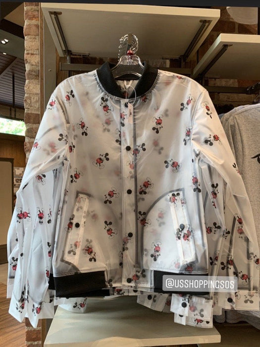 DLR - Mickey All-Over-Print Raincoat Jacket