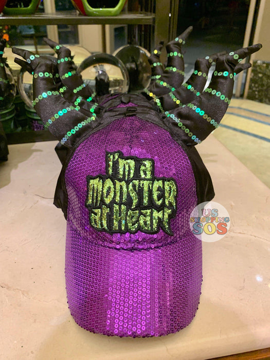 "DLR - Disney Villain Baseball Cap - Maleficent ""I am a Monster at Heart"""