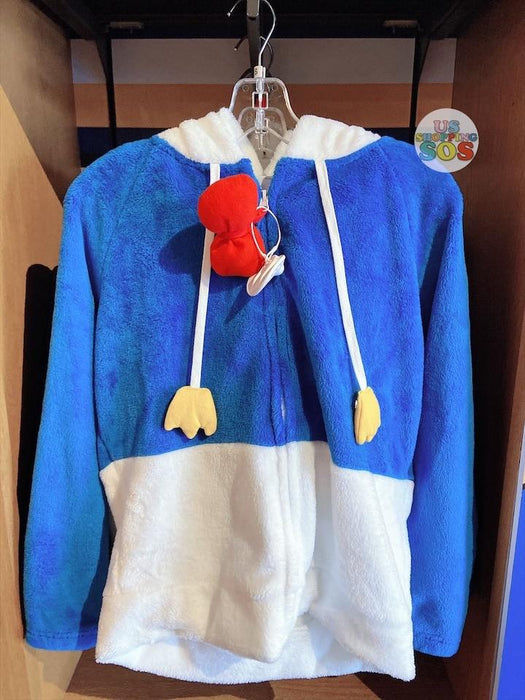 SHDL - Fluffy Hoodie Jacket x Donald Duck (For Female)