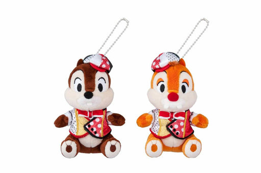 TDR - Very Very MINNIE! - Plush Keychain with Badge x Chip & Dale