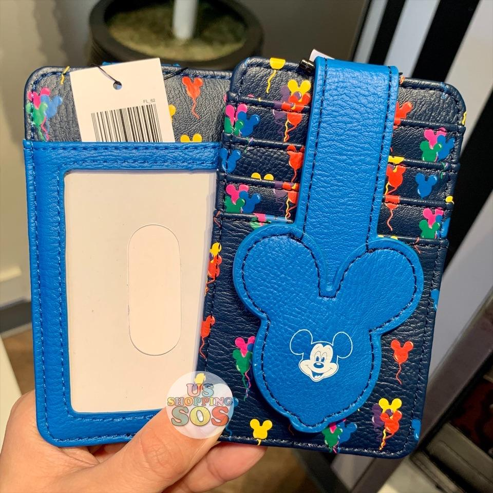 DLR - Mickey Mouse Card Case - Balloons