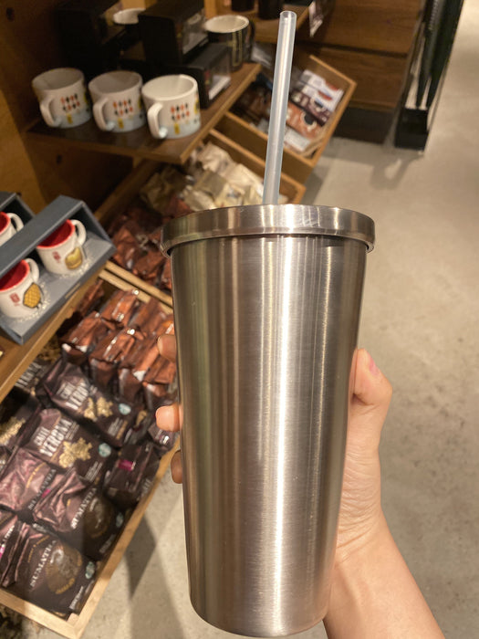 Hong Kong Starbucks - Metal Like Cold Cup - Silver