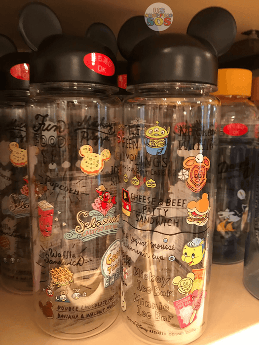 TDR - Food Theme - Mickey Mouse Head Shape Drink Bottle
