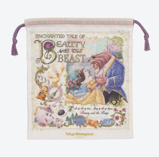 TDR - Enchanted Tale of Beauty and the Beast Collection - Drawstring Bag