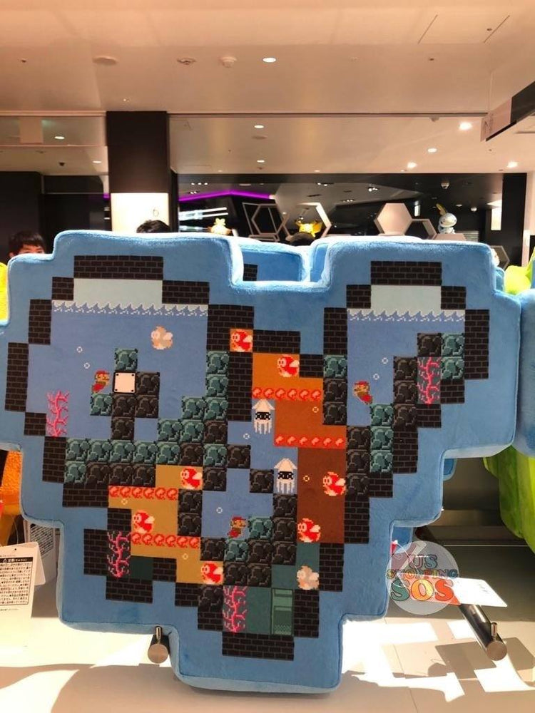 JP Nintendo - The Super Mario x Pokémon 8 Bit Scramble Cushion x Squirtle